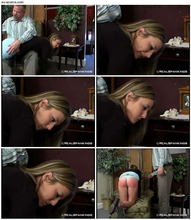 Riley - Riley Strapped by Mr  Daniels 2 - RealSpankings