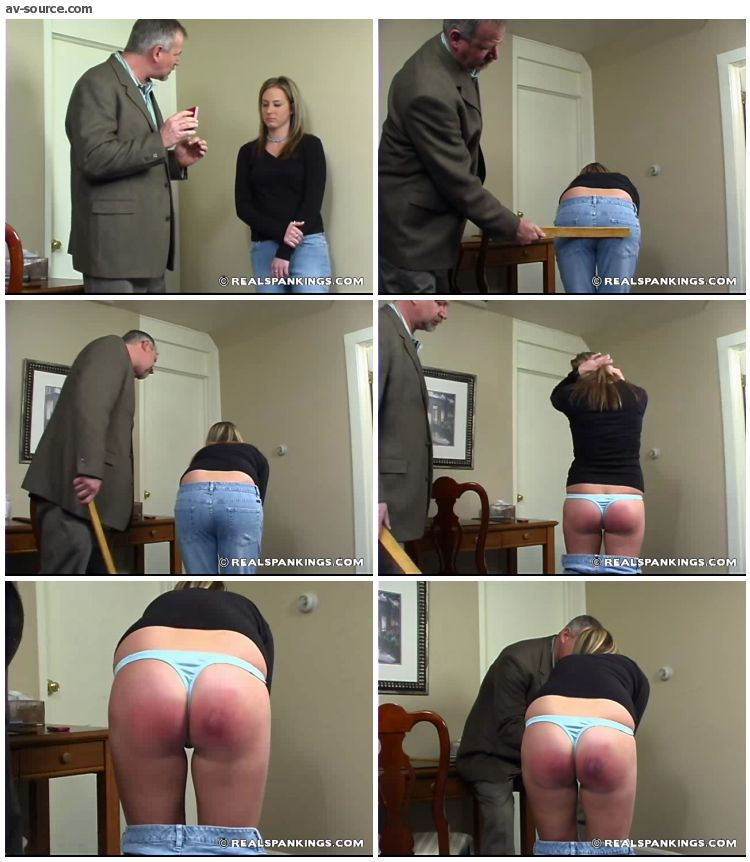 Riley - Rileys Ruler Spanking 1 - RealSpankings