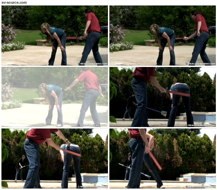 Riley - Riley and Jade Confronted about the Dirty Pool Part 2 of 2 - RealSpankings