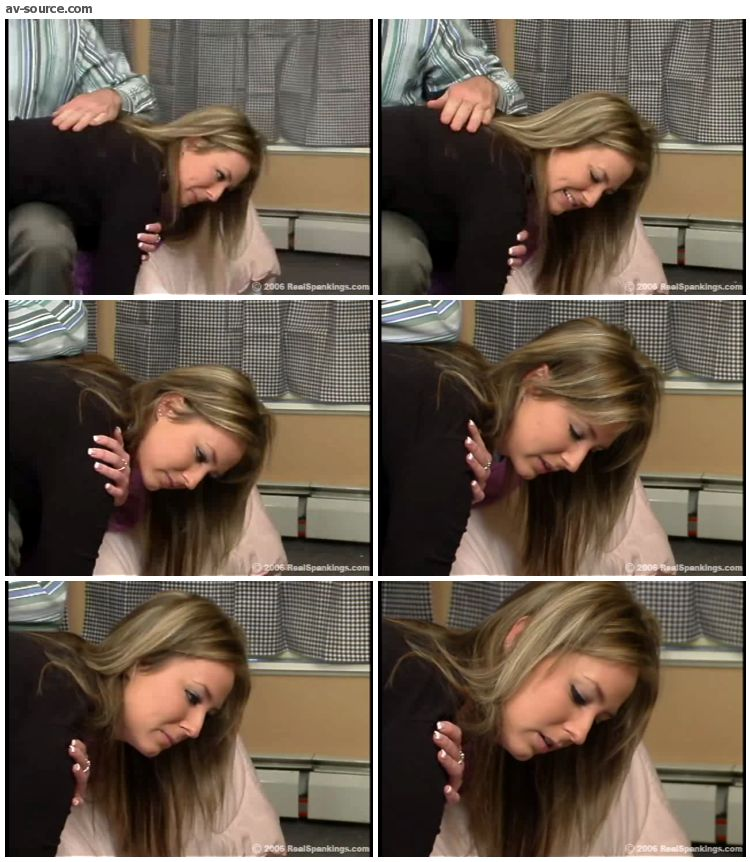 Riley - Riley Recieves Discipline From Mr  Daniels 2 - RealSpankings