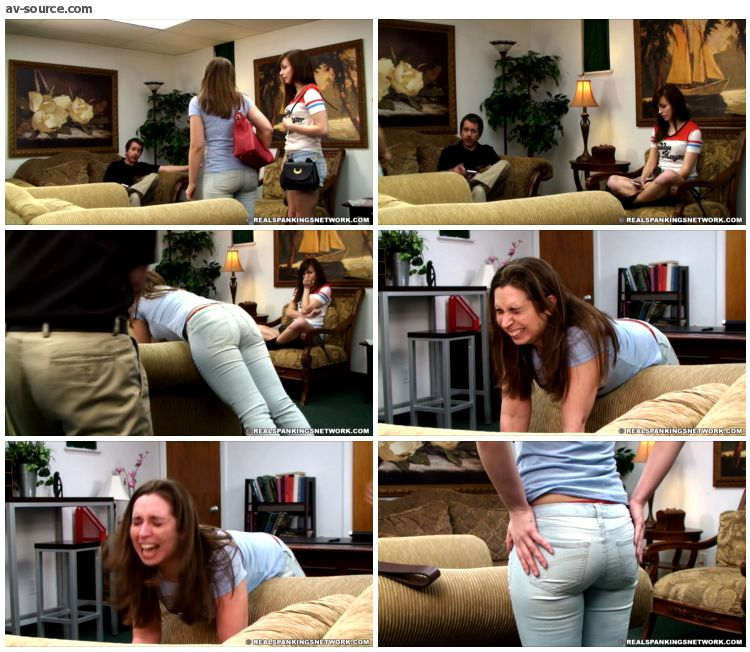 Adriana Evans - Adrianna Spanked in Front of her Friend