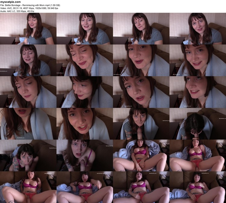 Bettie Bondage - Reminiscing With Mom (mp4, 1080p, 1.09 Gb)