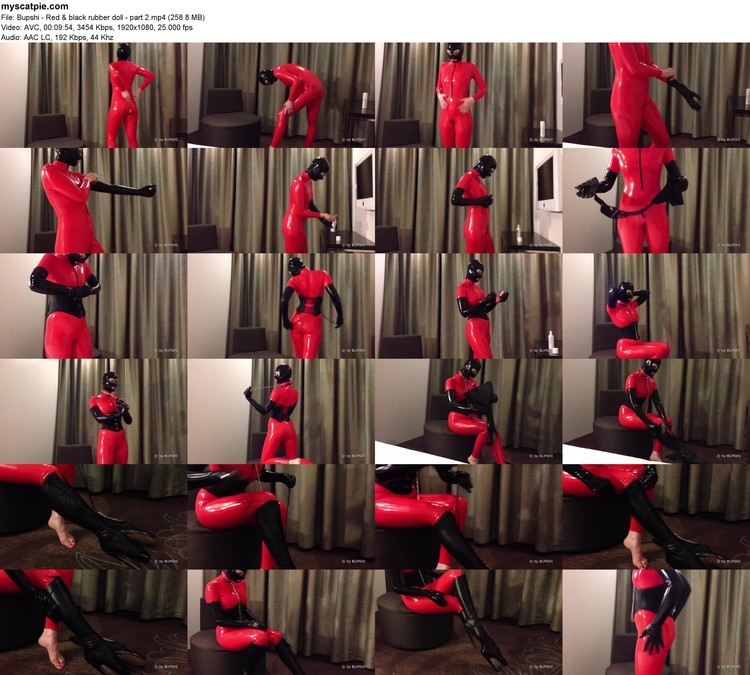Bupshi - Red & Black Rubber Doll - Part 2 (mp4, 1080p, 258.8 Mb)