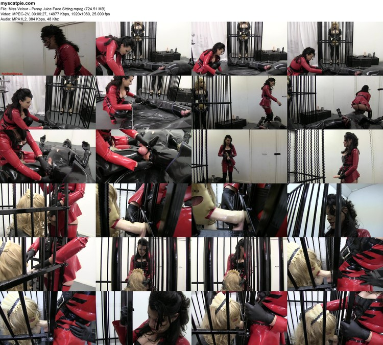 Miss Velour - Pussy Juice Face Sitting (mpeg, 1080p, 724.51 Mb)