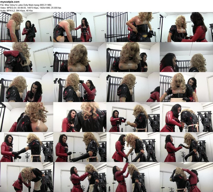 Miss Velour's Latex Dolly Maid (mpeg, 1080p, 683.21 Mb)