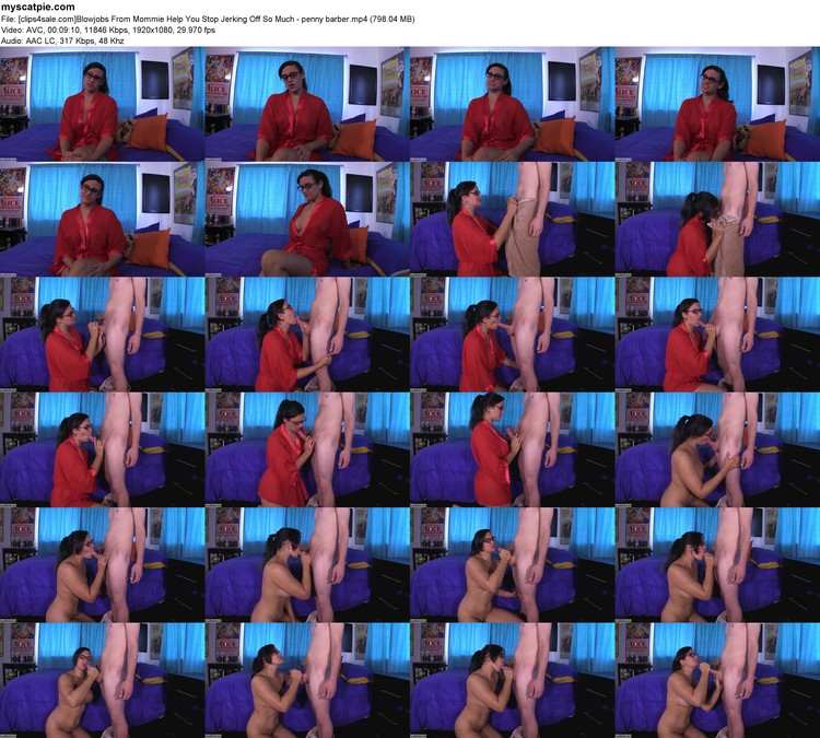 [clips4sale.com]blowjobs From Mommie Help You Stop Jerking Off So Much - Penny Barber (mp4, 1080p, 798.04 Mb)