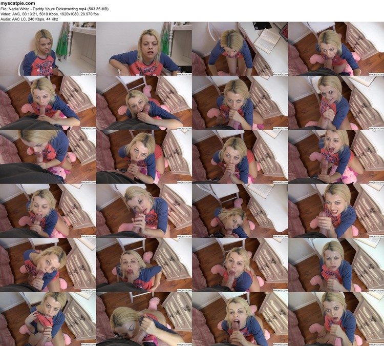 Nadia White - Daddy Youre Dickstracting (mp4, 1080p, 503.35 Mb)