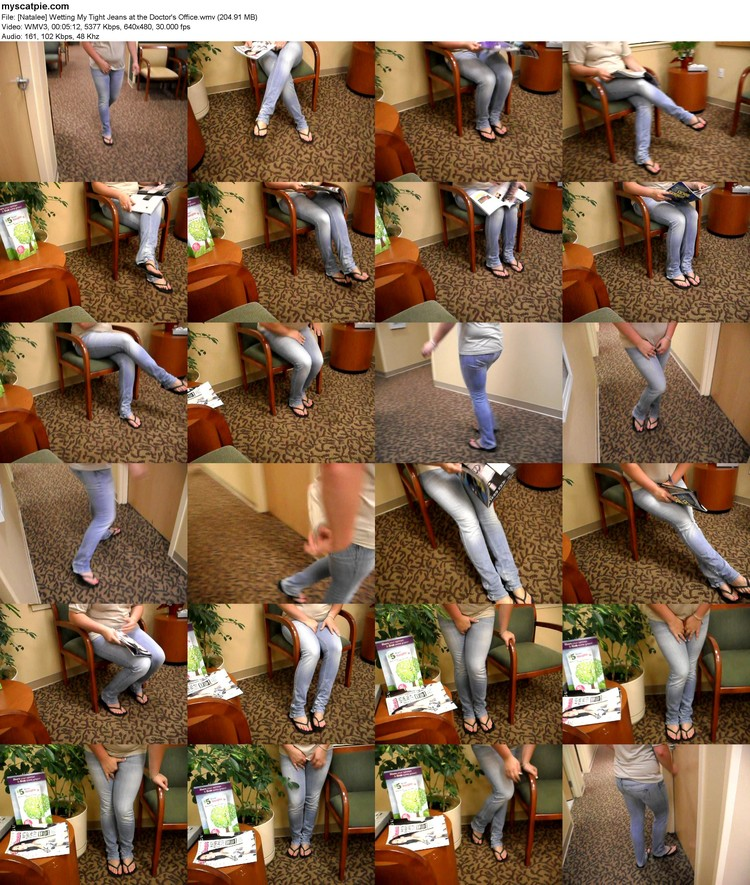 [natalee] Wetting My Tight Jeans At The Doctor's Office (wmv, 480p, 204.91 Mb)