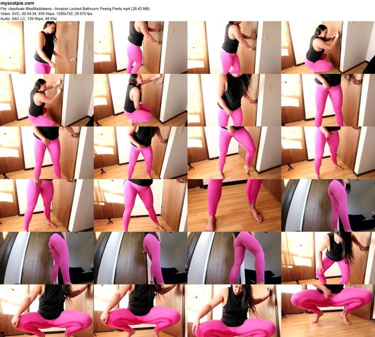 Clips4sale Missmaddalena - Amazon Locked Bathroom Peeing Pants (mp4, 720p, 26.42 Mb)