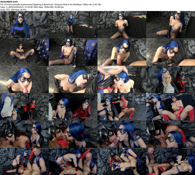 [primal's Darkside Superheroine] Nightwing & Batwoman - Enslaved Sluts To The Mindflayer 1080p (mkv, 1080p, 2.83 Gb)