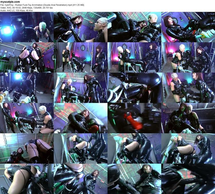 Cybiltroy - Rubber Fuck-toy Annihilation (double Anal Penetration) (mp4, 406p, 411.25 Mb)