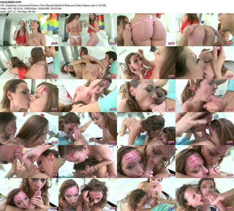 (clps4sale) Uncensored Extreme Puke Blowjob Maddy O'reilly And Callie Calypso (mp4, 1080p, 1.42 Gb)