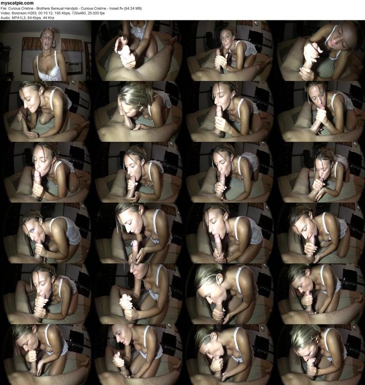 Curious Cristine - Brothers Sensual Handjob - Curious Cristine - Incest (flv, 480p, 84.24 Mb)
