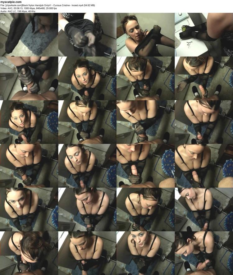 [clips4sale.com]black Nylon Handjob Onlyh1 - Curious Cristine - Incest (mp4, 480p, 54.82 Mb)