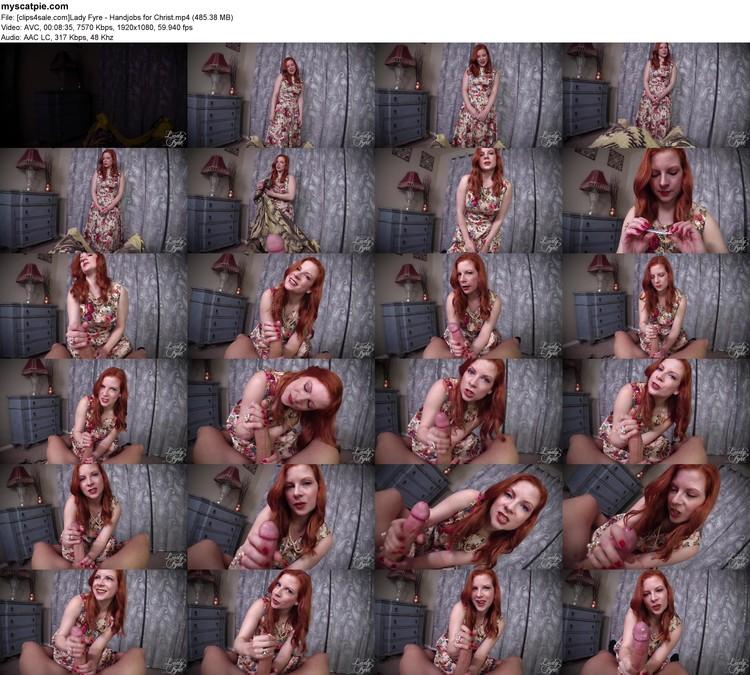 [clips4sale.com]lady Fyre - Handjobs For Christ (mp4, 1080p, 485.38 Mb)
