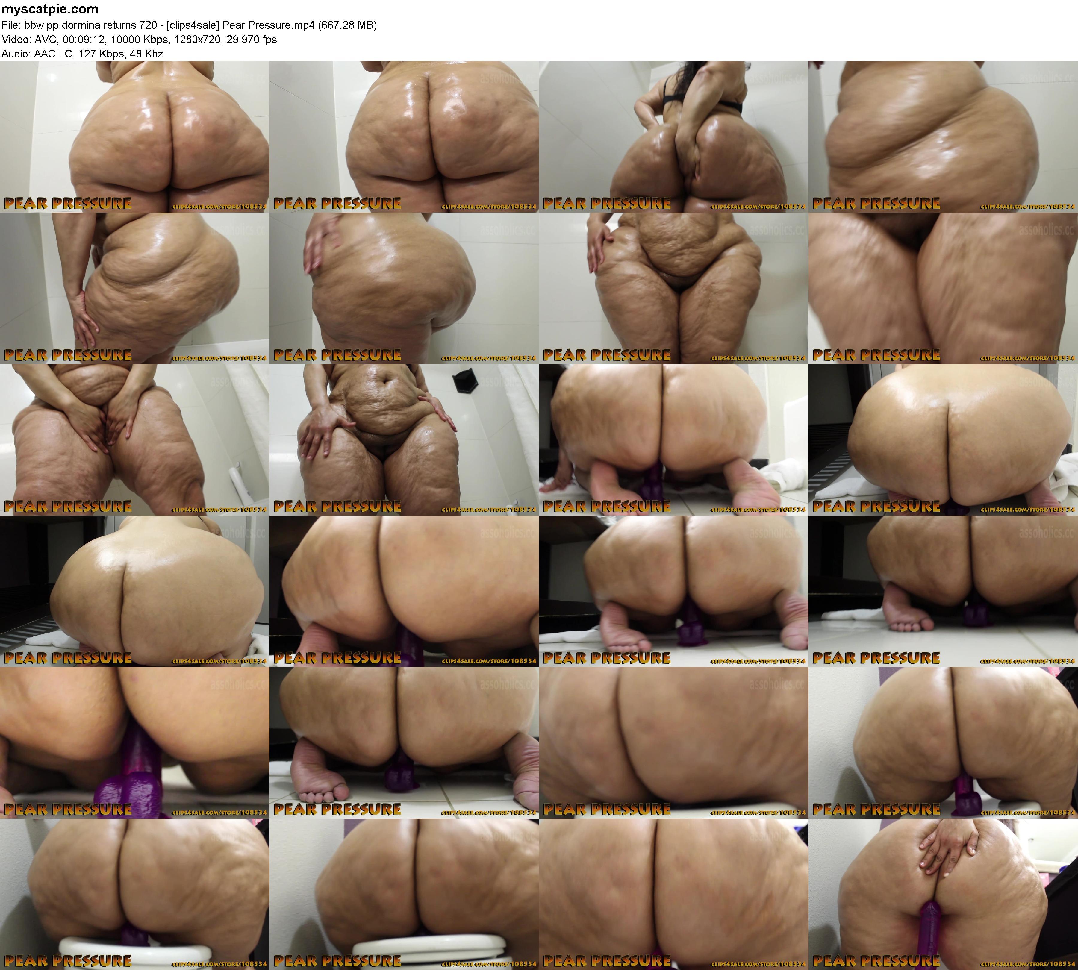Alpha Porn Bbw bbw pp dormina returns 720 - [clips4sale] pear pressure (mp4