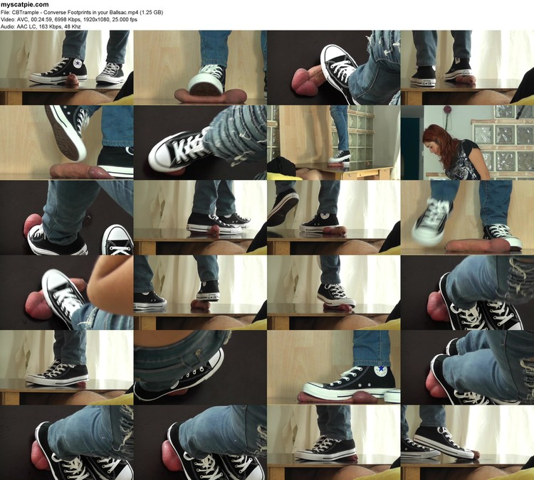 Cbtrample - Converse Footprints In Your Ballsac (mp4, 1080p, 1.25 Gb)