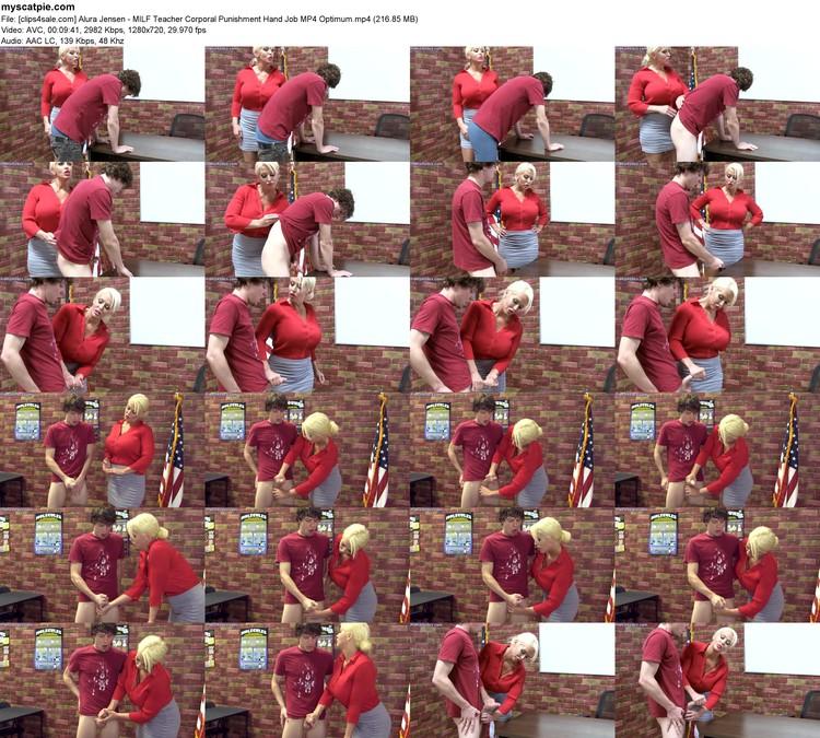 [clips4sale.com] Alura Jensen - Milf Teacher Corporal Punishment Hand Job Mp4 Optimum (mp4, 720p, 216.85 Mb)