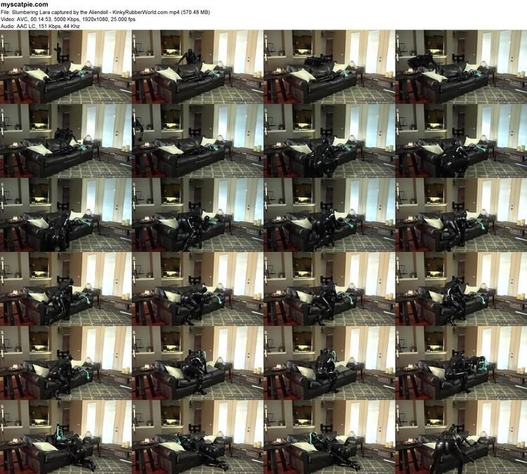 Slumbering Lara Captured By The Aliendoll - Kinkyrubberworld.com (mp4, 1080p, 570.48 Mb)