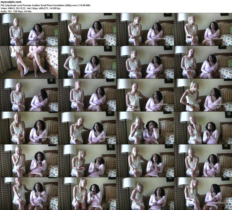 [clips4sale.com] Pornstar Audition Small Penis Humiliation (480p) (wmv, 272p, 116.96 Mb)