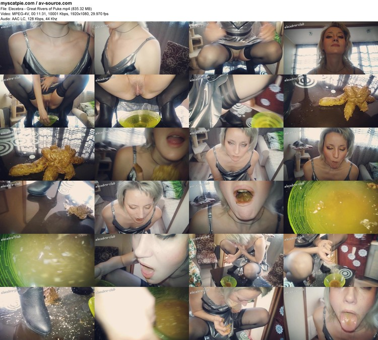 Elecebra - Great Rivers Of Puke (mp4, 1080p, 835.32 Mb)