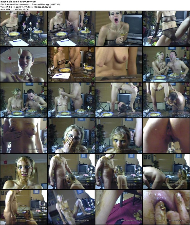 scat-vomit-piss Livesession Ii - Susan And Marc (480x360, 369.07 Mb, Mpg)
