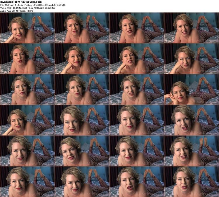 mistress - T - Fetish Fuckery - Foot Bitch Joi (315.51 Mb, Avc, 720p)