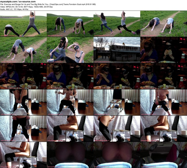 exercise And Burger For Us And Two Big Shits For You - [yezzclips.com] Teens Femdom Scat (1920x1080, 918.91 Mb, Mp4)