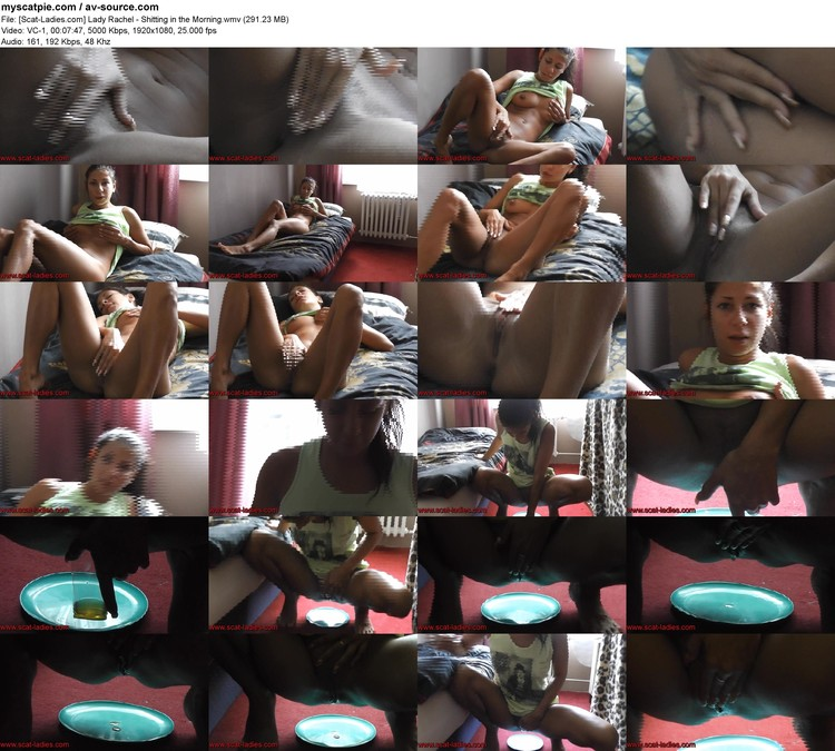 [scat-ladies.com] Lady Rachel - Shitting In The Morning (291.23 Mb, Vc-1, 1920x1080)