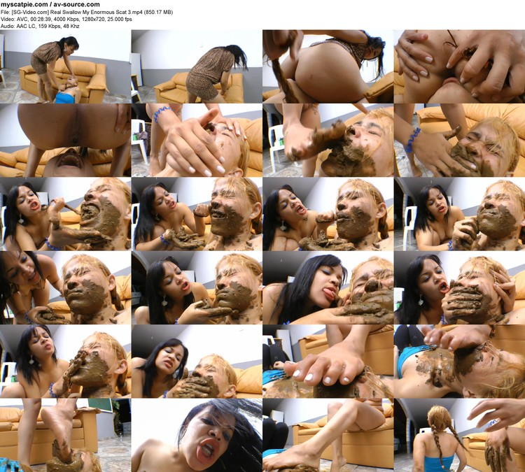 [sg-video.com] Real Swallow My Enormous Scat 3 (mp4, 720p, 850.17 Mb)