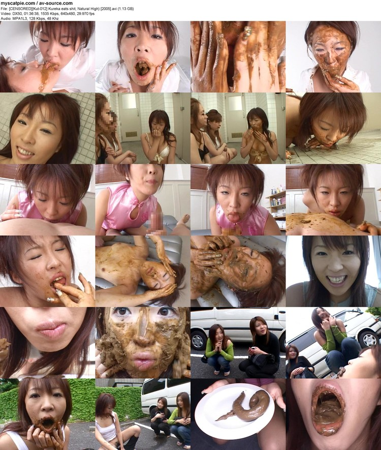 [censored][kut-012] Kureka Eats Shit, Natural High) [2005] (1.13 Gb, Avi, 640x480)