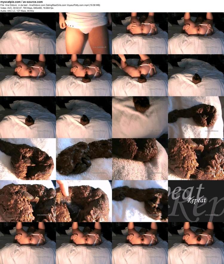 ana Didovic  In Da Bed - Anadidovic.com Datingrealgirls.com Voyeurpotty.com (18.56 Mb, Avc, 640x480)