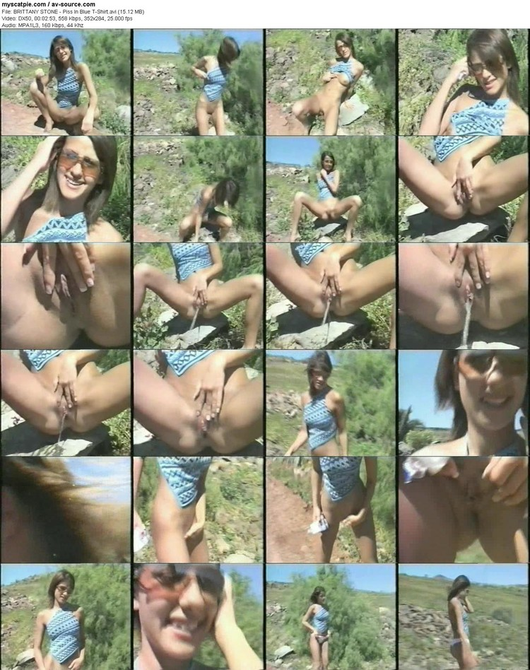 brittany Stone - Piss In Blue T-shirt (15.12 Mb, Dx50, 284p)