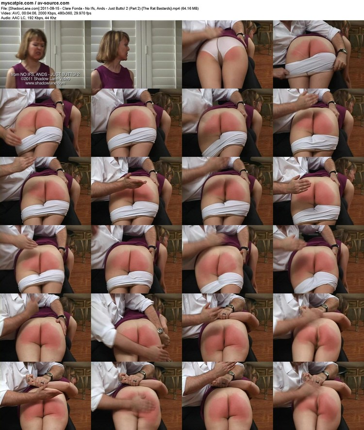 [shadowlane.com] 2011-08-15 - Clare Fonda - No Ifs, Ands - Just Butts! 2 (part 2)  (64.16 Mb, Mp4, 480x360)