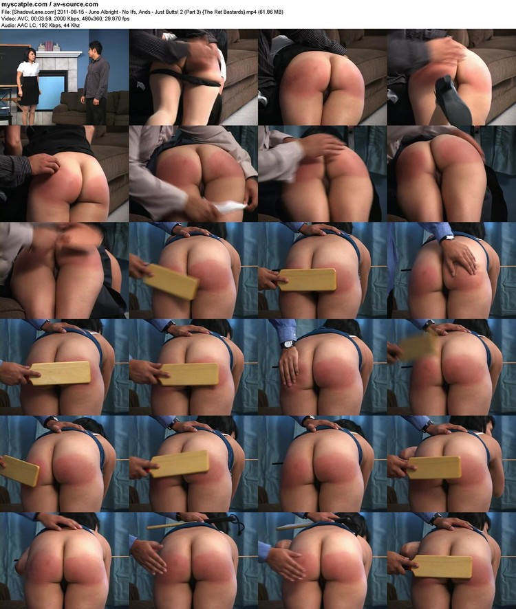 [shadowlane.com] 2011-08-15 - Juno Albright - No Ifs, Ands - Just Butts! 2 (part 3)  (avc, 480x360, 61.86 Mb)