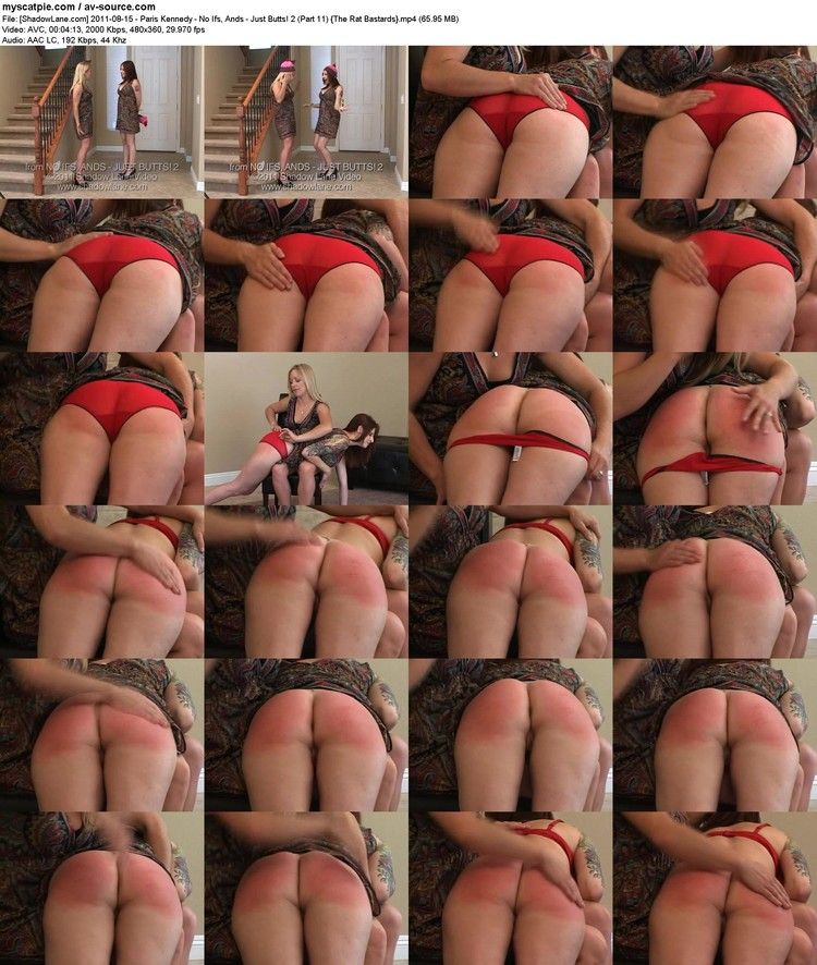 [shadowlane.com] 2011-08-15 - Paris Kennedy - No Ifs, Ands - Just Butts! 2 (part 11)  (65.95 Mb, Avc, 360p)