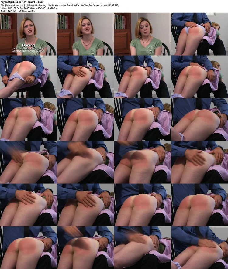 [shadowlane.com] 2012-03-11 - Darling - No Ifs, Ands - Just Butts! 3 (part 1)  (63.17 Mb, Mp4, 480x360)