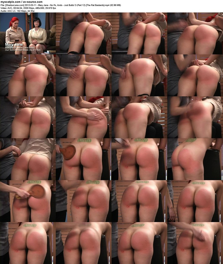 [shadowlane.com] 2012-03-11 - Mary Jane - No Ifs, Ands - Just Butts! 3 (part 12)  (62.86 Mb, Avc, 360p)