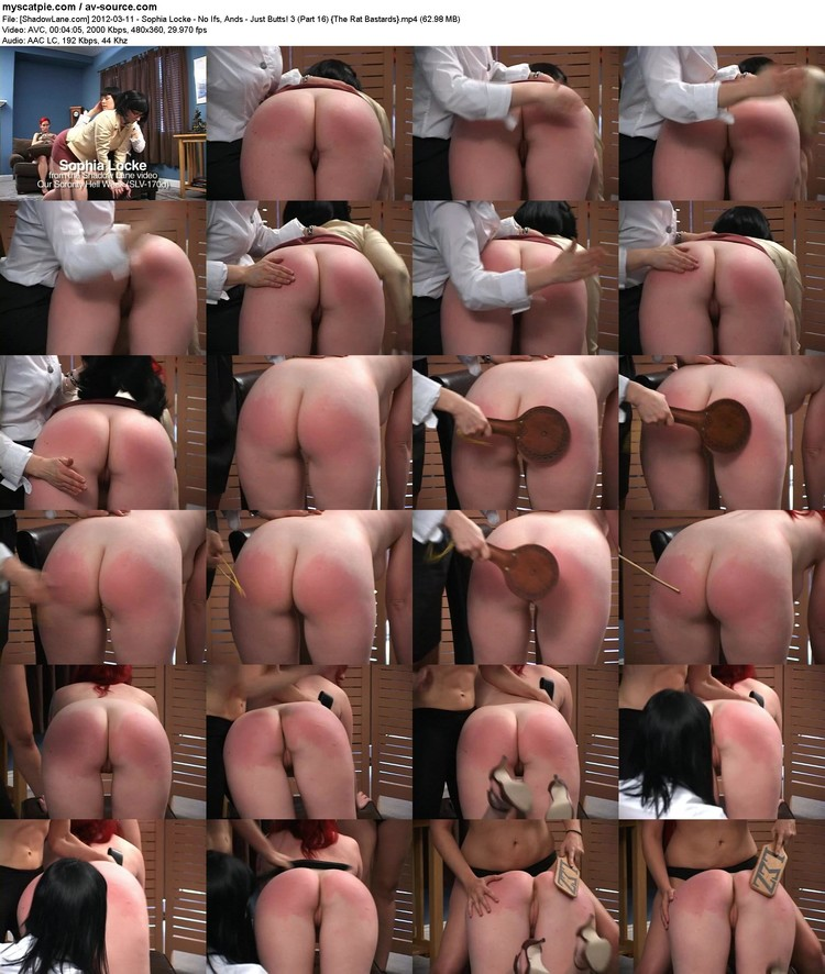 [shadowlane.com] 2012-03-11 - Sophia Locke - No Ifs, Ands - Just Butts! 3 (part 16)  (avc, 480x360, 62.98 Mb)