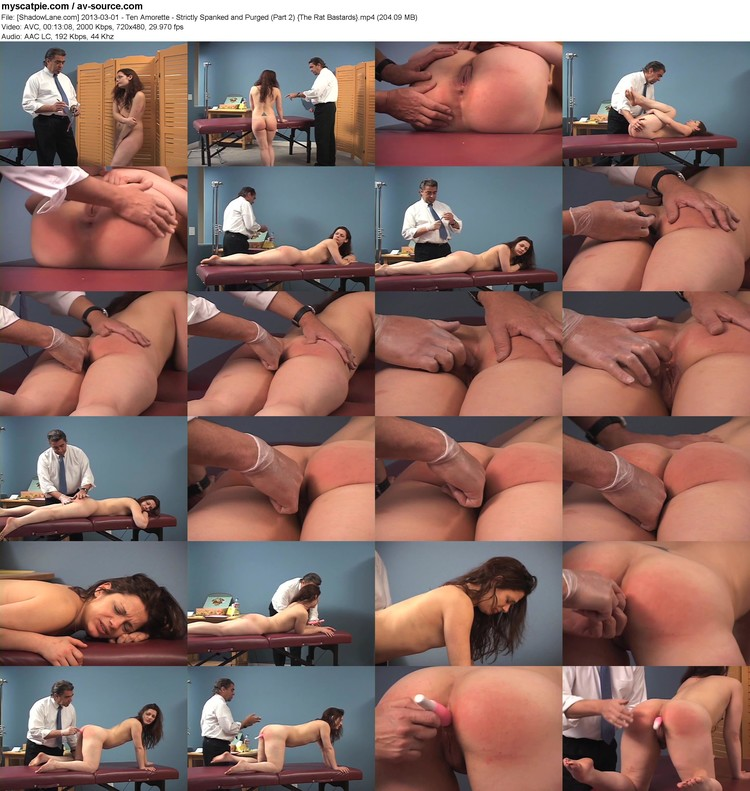[shadowlane.com] 2013-03-01 - Ten Amorette - Strictly Spanked And Purged (part 2)  (720x480, 204.09 Mb, Mp4)