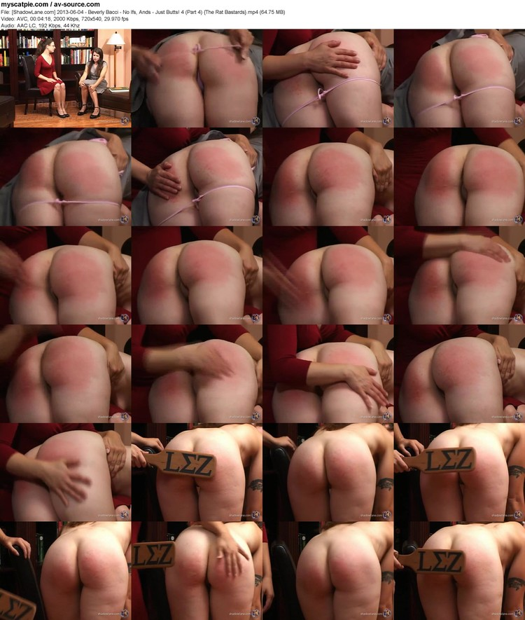 [shadowlane.com] 2013-06-04 - Beverly Bacci - No Ifs, Ands - Just Butts! 4 (part 4)  (avc, 720x540, 64.75 Mb)