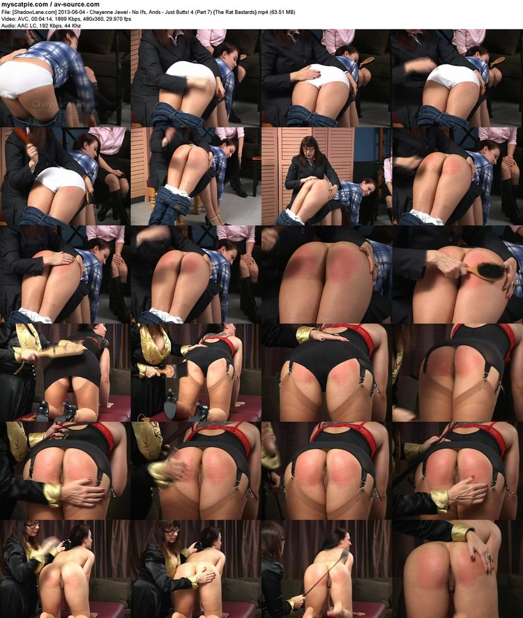 [shadowlane.com] 2013-06-04 - Cheyenne Jewel - No Ifs, Ands - Just Butts! 4 (part 7)  (480x360, 63.51 Mb, Mp4)