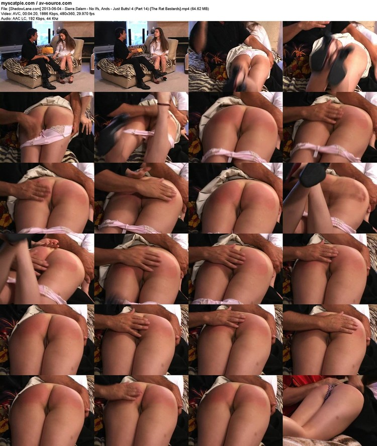 [shadowlane.com] 2013-06-04 - Sierra Salem - No Ifs, Ands - Just Butts! 4 (part 14)  (480x360, 64.62 Mb, Mp4)