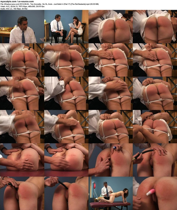 [shadowlane.com] 2013-06-04 - Ten Amorette - No Ifs, Ands - Just Butts! 4 (part 17)  (63.03 Mb, Avc, 360p)