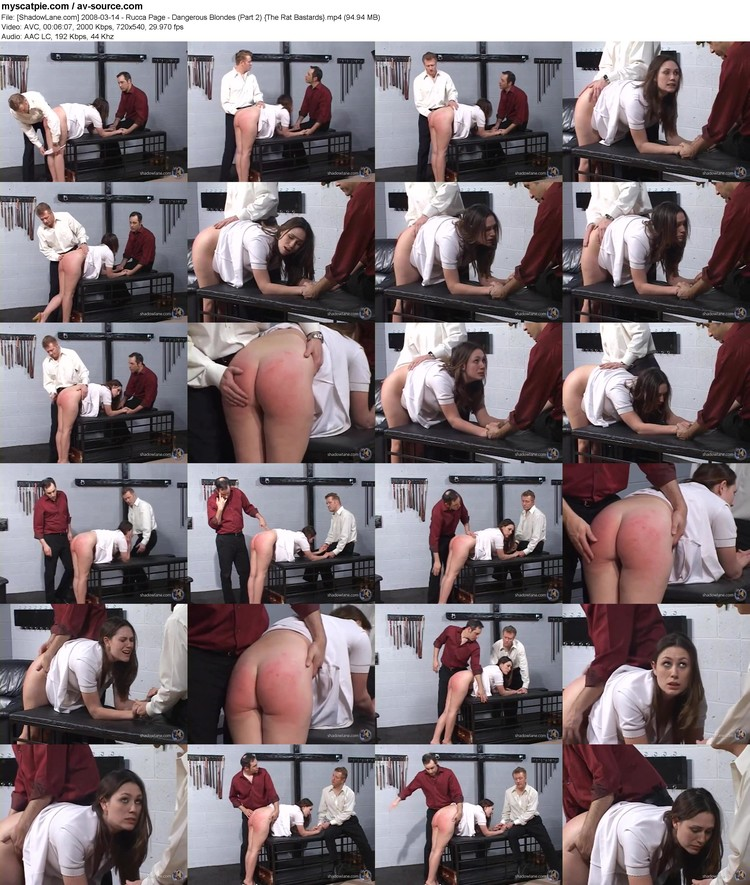 [shadowlane.com] 2008-03-14 - Rucca Page - Dangerous Blondes (part 2)  (720x540, 94.94 Mb, Mp4)