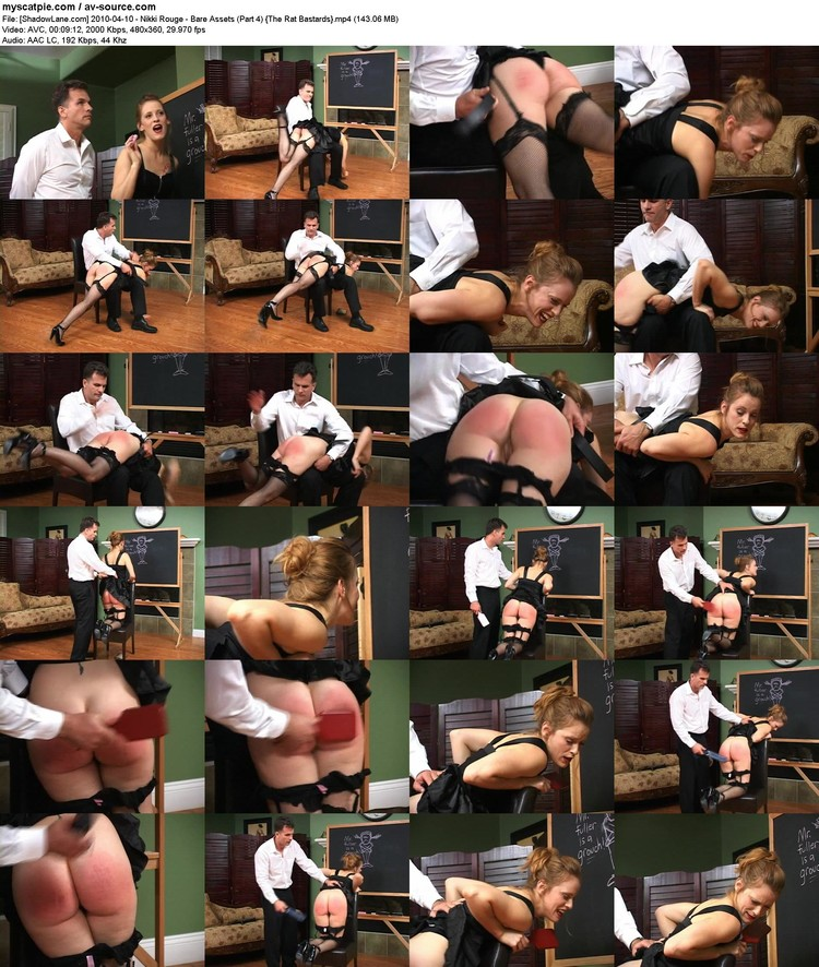 [shadowlane.com] 2010-04-10 - Nikki Rouge - Bare Assets (part 4)  (avc, 480x360, 143.06 Mb)