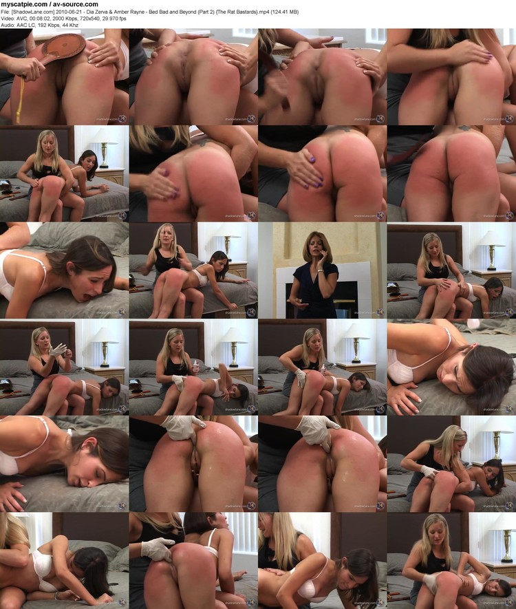[shadowlane.com] 2010-06-21 - Dia Zerva & Amber Rayne - Bed Bad And Beyond (part 2)  (avc, 720x540, 124.41 Mb)