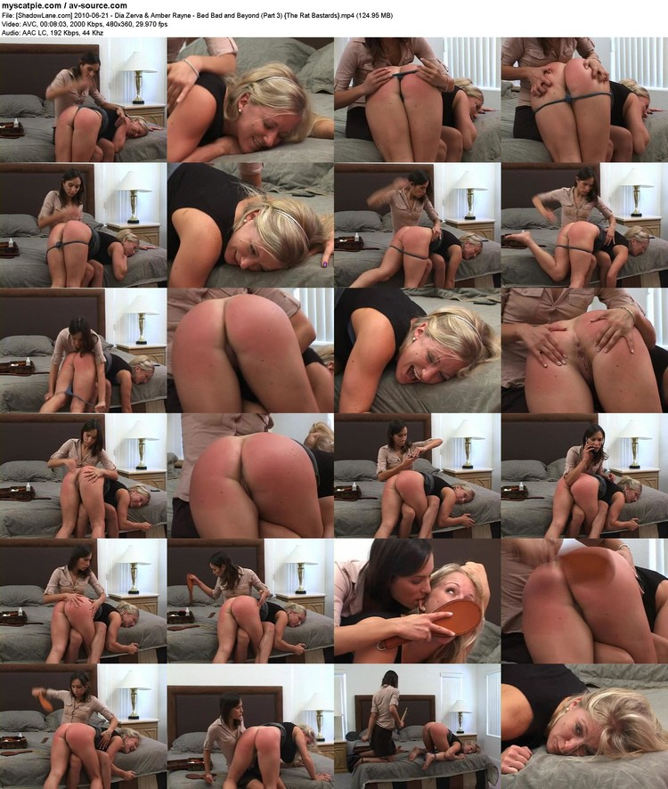 [shadowlane.com] 2010-06-21 - Dia Zerva & Amber Rayne - Bed Bad And Beyond (part 3)  (124.95 Mb, Avc, 360p)
