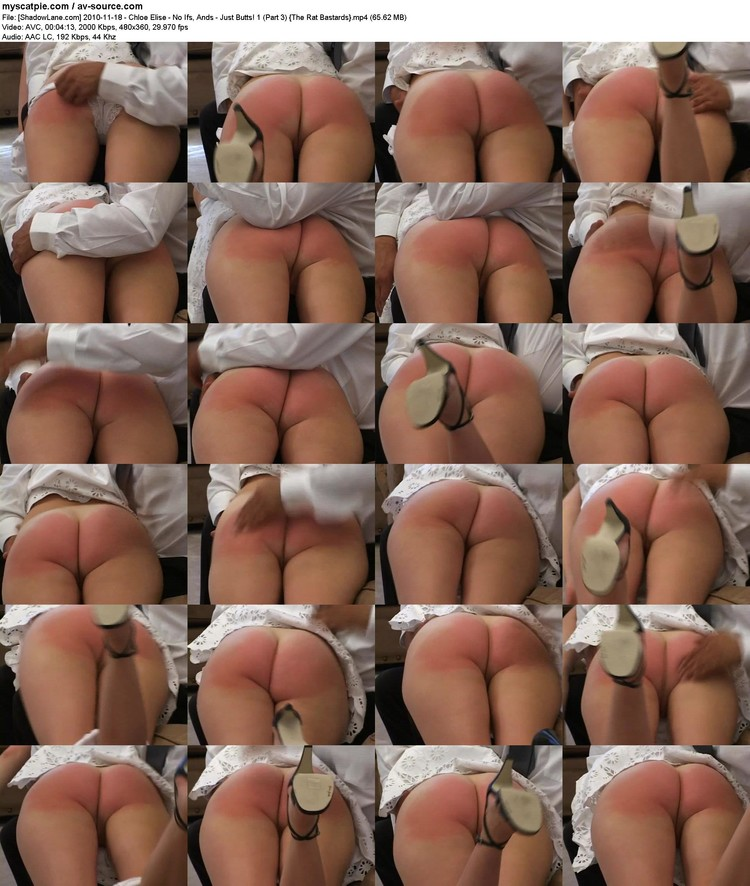 [shadowlane.com] 2010-11-18 - Chloe Elise - No Ifs, Ands - Just Butts! 1 (part 3)  (65.62 Mb, Avc, 360p)