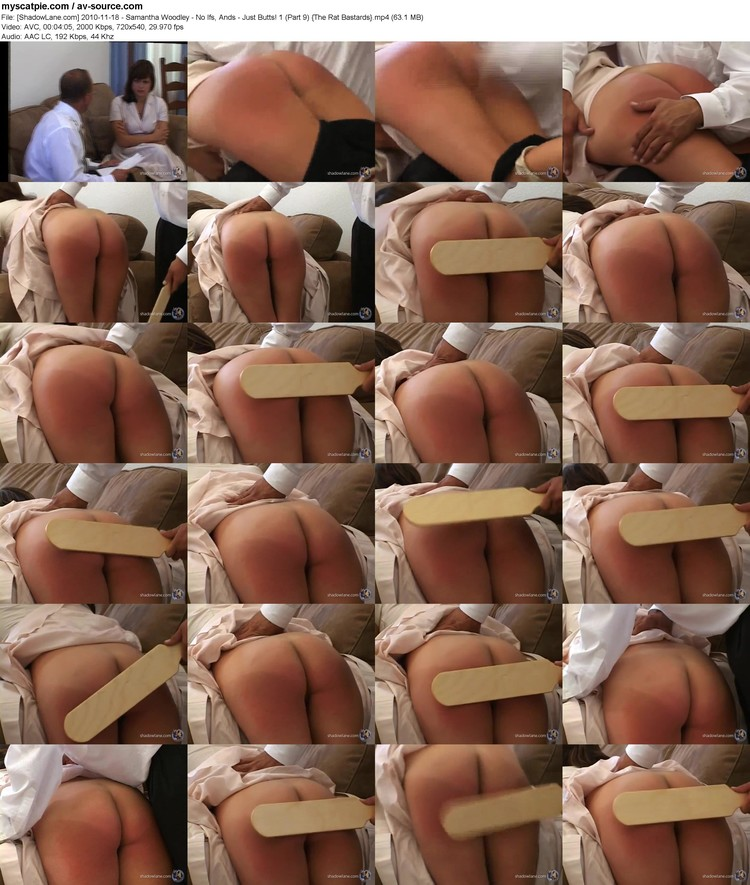 [shadowlane.com] 2010-11-18 - Samantha Woodley - No Ifs, Ands - Just Butts! 1 (part 9)  (63.1 Mb, Avc, 720x540)